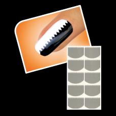 Nageltattoo - Kleine tanden